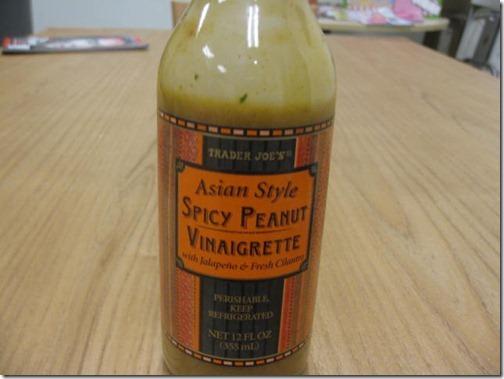 Spicy Peanut Vinaigrette
