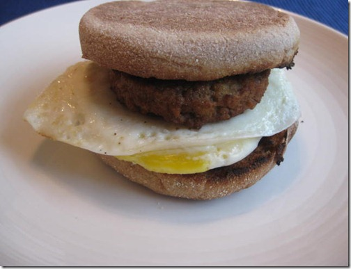 Vegetarian Egg Sandwich