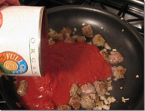 clean pasta sauce