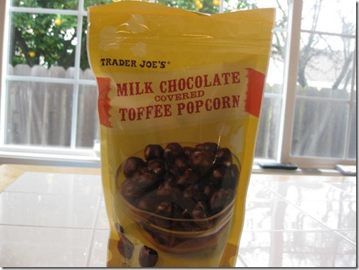 Trader Joe's Milk Chocolate Covered Toffee Popcorn
