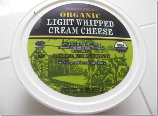 Light Whipped Cream Cheese