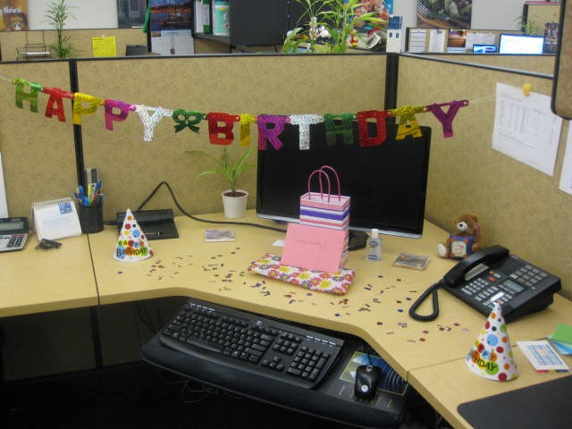 Unique Ideas About Office Birthday Decorations On Pinterest  Office Birthday