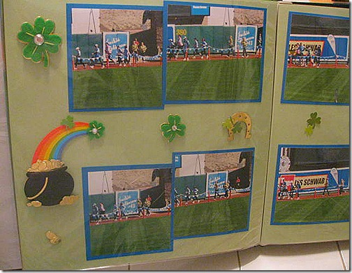 st patricks day scrapbooking ideas