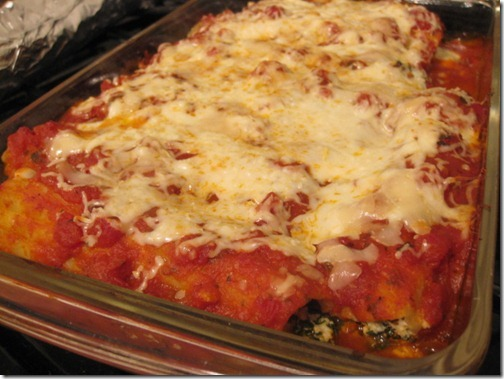 Eat Better America Turkey and Spinach Manicotti