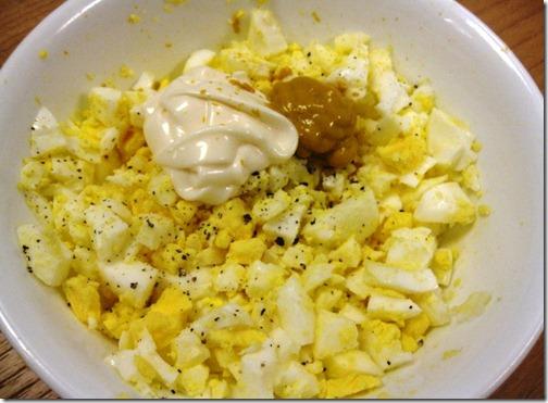 Weight Watchers Egg salad