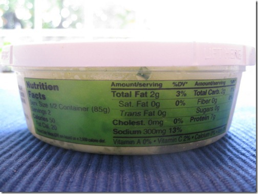 egg white salad nutrition facts