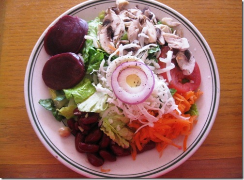 the best salad i ever ate