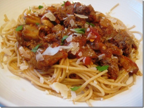 weight watchers spaghetti recipes