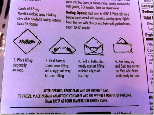 how to roll an eggroll