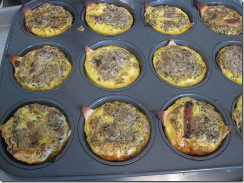Biggest Loser Taco Egg Muffin Recipe