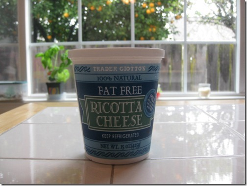 Trader Joe's Ricotta Cheese