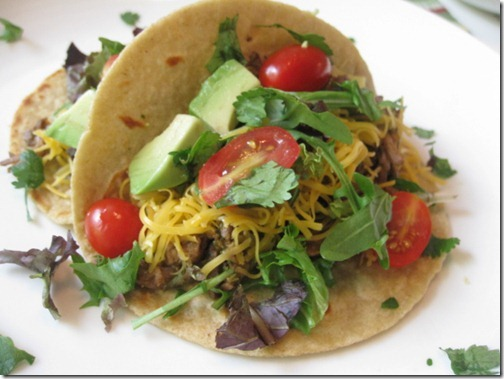 Weight Watchers Southwestern Steak Tacos