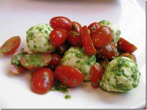 Tomato, Basil, Caprese Salads