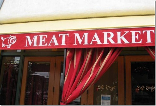 Meet me at the meat market