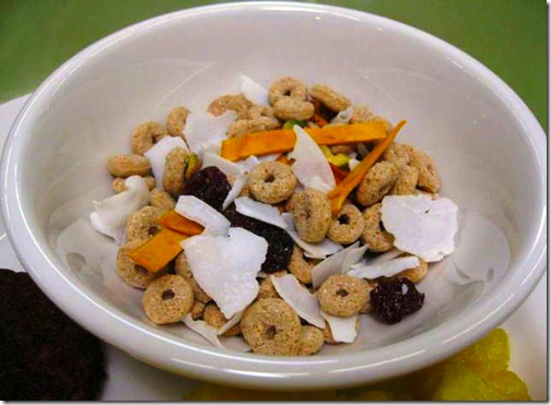 trail mixes with cereal