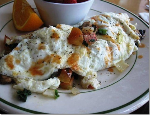 vegetable omelet recipes