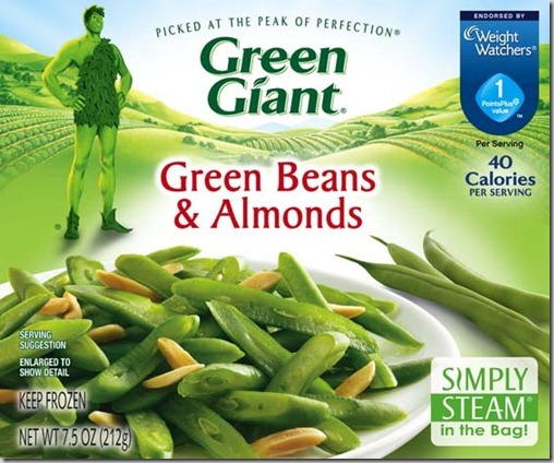Green Giant Green Beans with Almonds