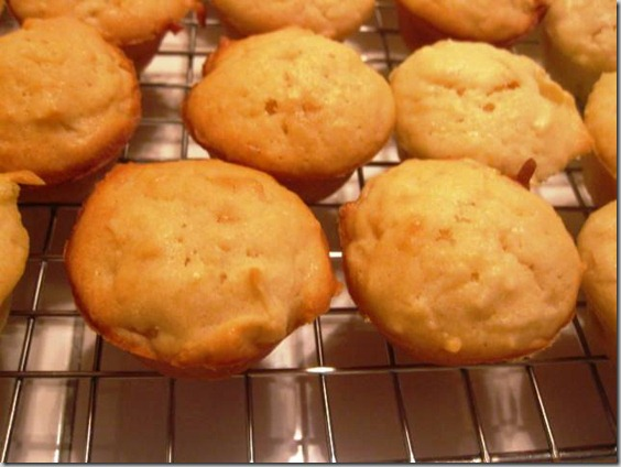 Pineapple Muffins with Coconut