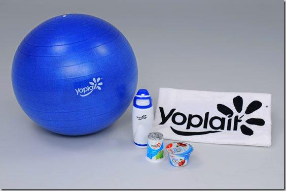 Yoplait Weight Watcher gift pack